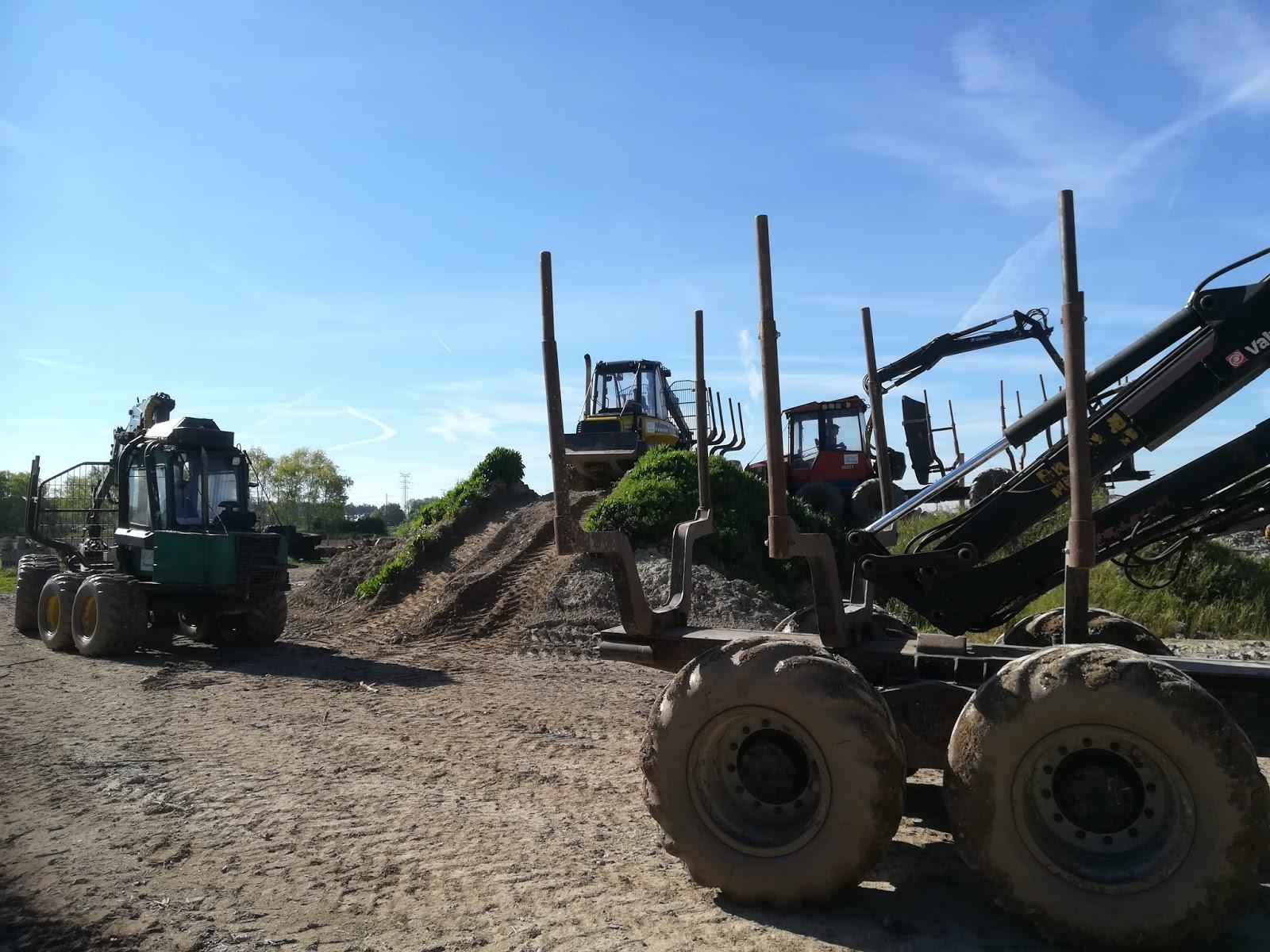 tracteur forestier termit