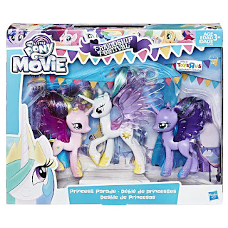 My Little Pony the Movie Friendship Festival Princess Parade 3-Pack