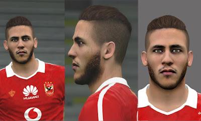 PES 2016 Ramdan Sobhy (Al Ahly) Face by Prince Shieka