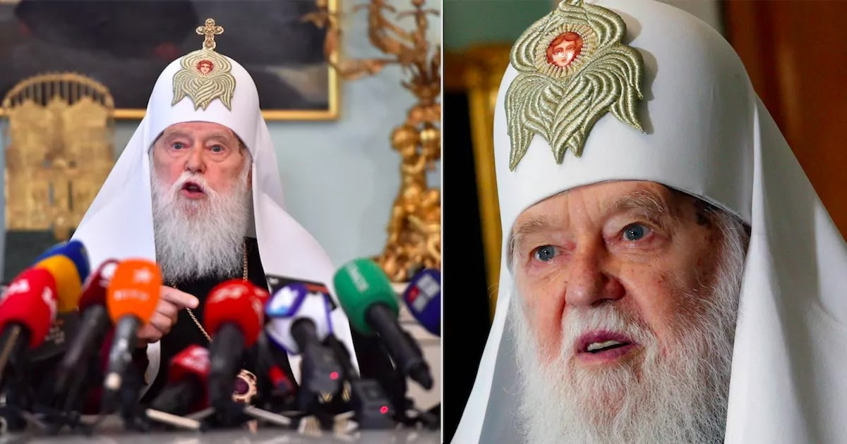 Ukrainian Church Leader Who Blamed The CoVid-19 Pandemic On Gay Marriage Tests Positive For The Virus