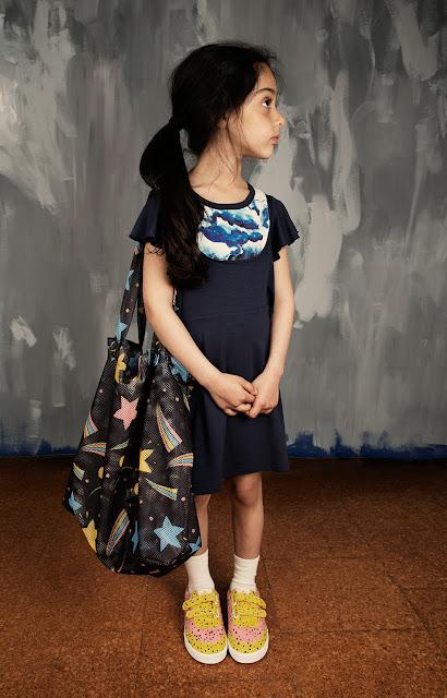 Bolsa de malla Espacio de Mini Rodini