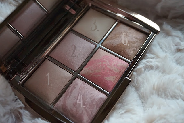 ambient lighting edit palette hourglass swatches revue avis