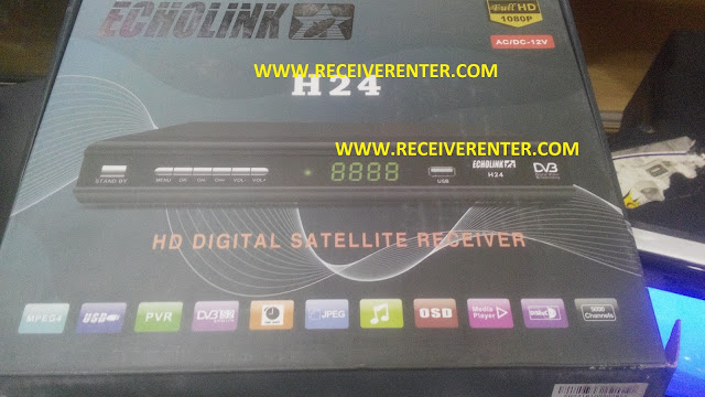 ECHOLINK H24 HD RECEIVER POWERVU KEY OPTION