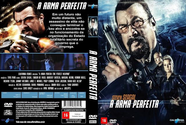 Capa DVD A Arma Perfeita