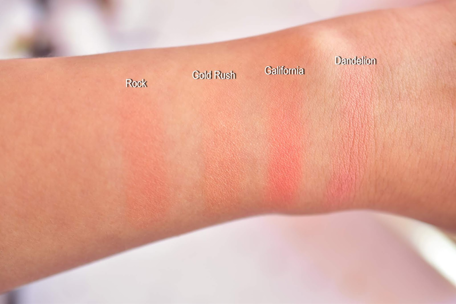 Benefit blush swatch