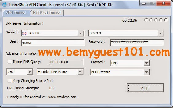 Etisalat Free Browsing With Tunnelguru DNS | Be My Guest 101