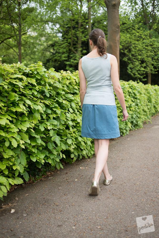 Paris Skirt mit Kasumi Tupfen Top