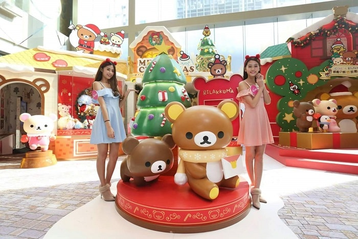 Christmas Decor tour in Hong Kong