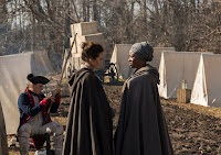 Heather Lind and Idara Victor in Turn: Washington's Spies Season 4 (5)