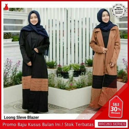 RRC263L49 Loong Sleve Blazer Wanita Terbaru BMGShop