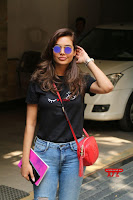 Cute Esha Gupta in Black T Shirt and Denim Jeans ~  Exclusive Galleries 004.jpg