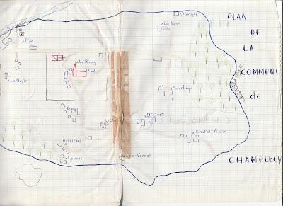 Plan de Champlecy
