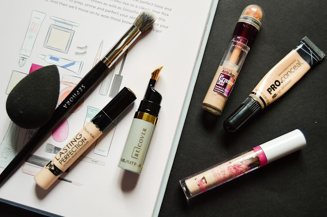 Conceal spots, redness and dark circles - Best concealers