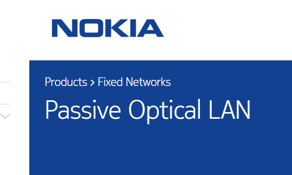 Nokia Offers Passive Optical Alternative to Ethernet ~ Converge