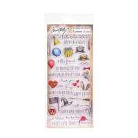 Tim Holtz Clear Stamps, Things/Talk