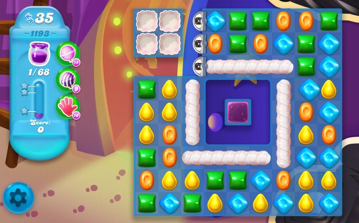 Candy Crush Soda Saga level 1193