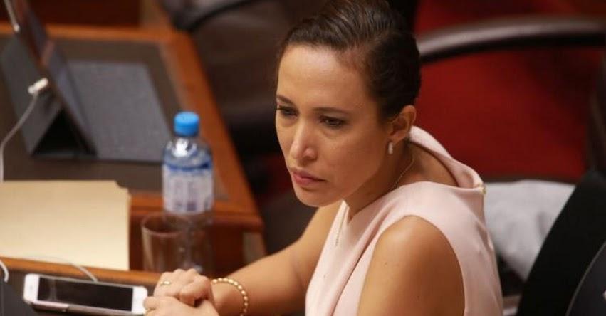 Congresista fujimorista, López Vilela admitió tocamientos indebidos, asegura parlamentaria Paloma Noceda