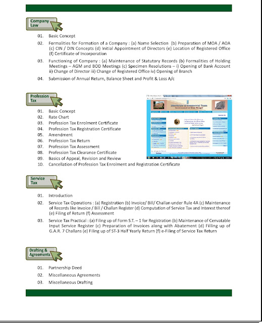 tax education online/ distance certified course with e-filing ...