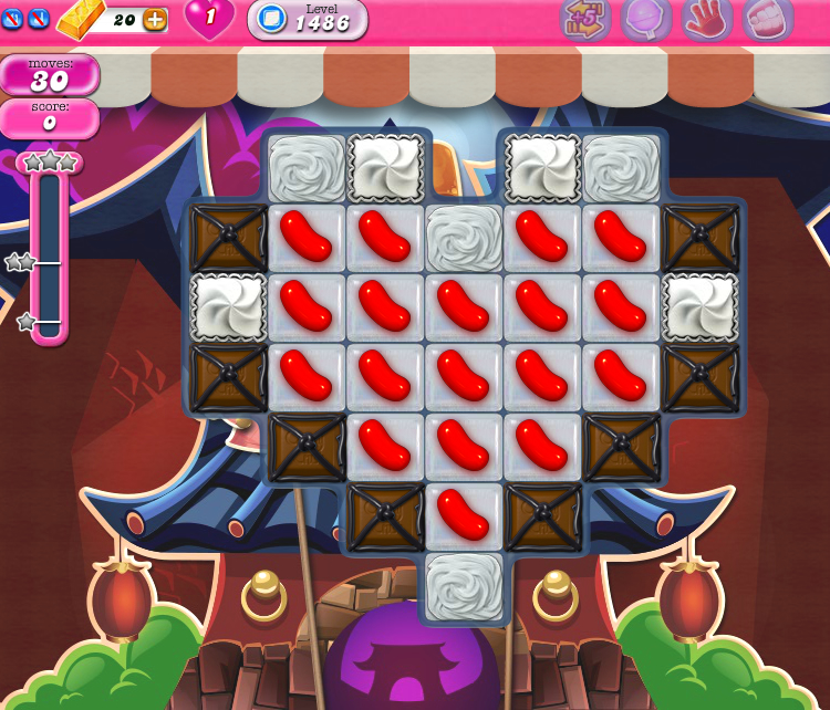 Candy Crush Saga 1486