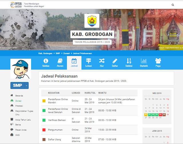 Download Juknis PPDB Online SMP Kabupaten Grobogan
