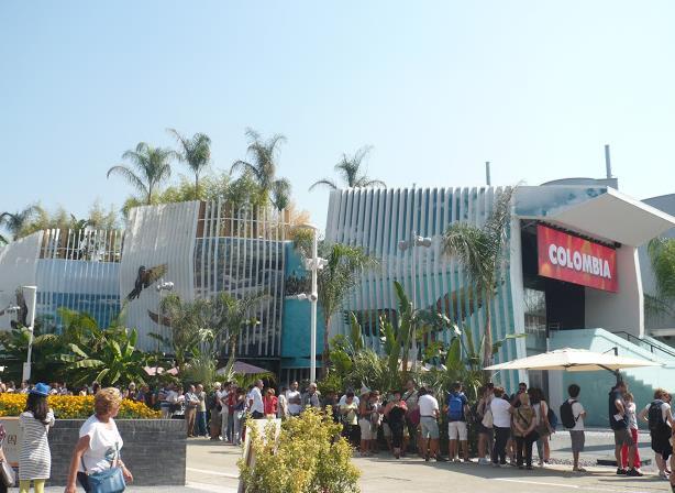 Expo 2015 padiglioneColombia