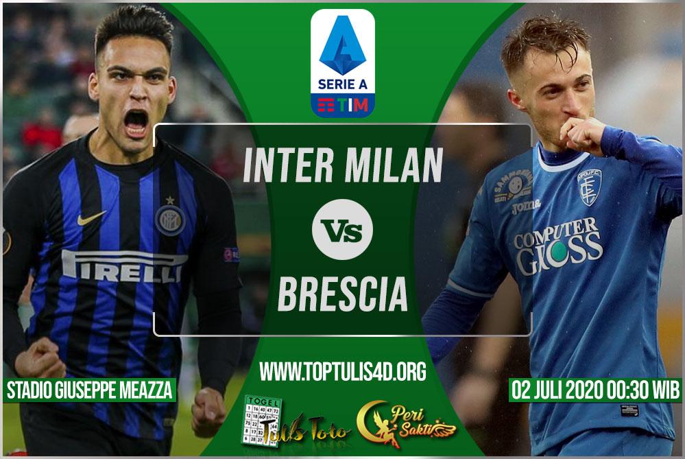 Prediksi Inter Milan vs Brescia 02 Juli 2020