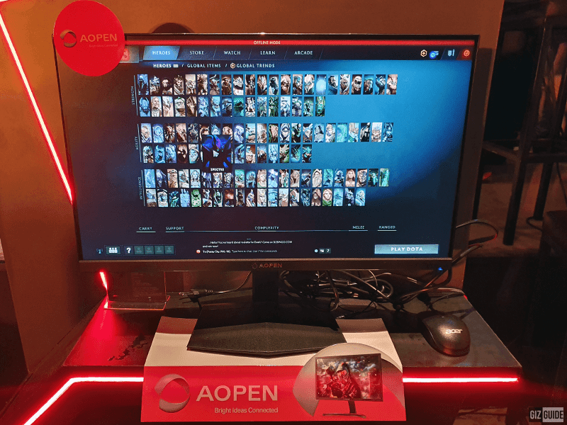 AOPEN 27-inch 1440p with 144Hz