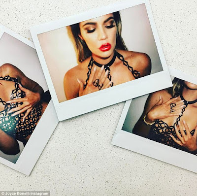 Khloe Kardashian shows off her hot figure in new photos