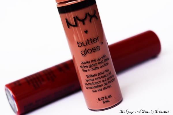 nyx butter gloss red velvet