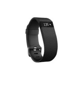 fitbit charge HR fitness tracker pedometer
