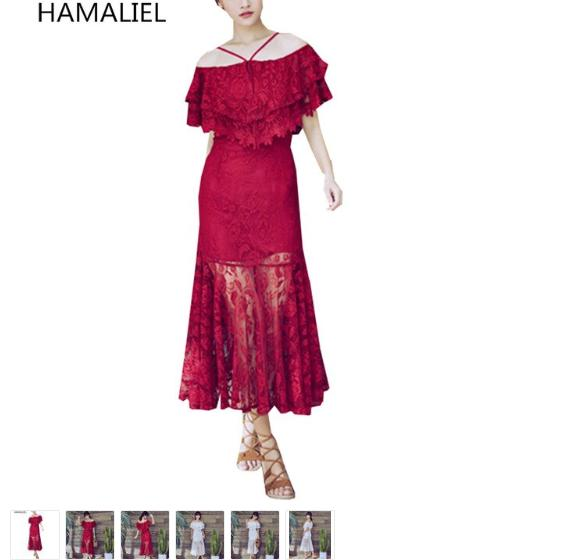 Which Stores Have Sales On Now - Red Lace Off The Shoulder Dress - Outfits For Sale Online