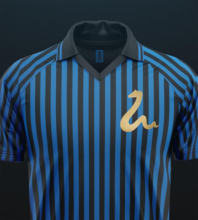 on sale c4822 e0f8e Inter Milan 'Golden Snake' Retro Concept Kits By ...
