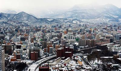 Sapporo montais