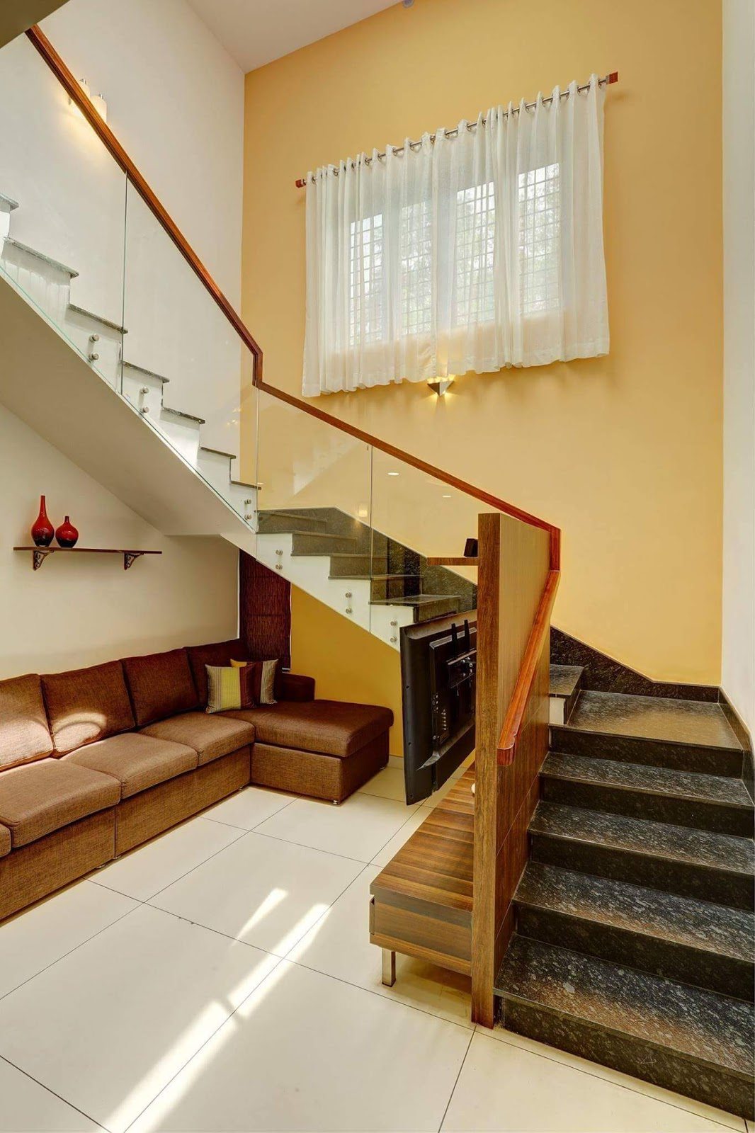 Finished Interior Designs In Kerala: Finished House Of Jijo Thomas With Furnished Interiors
