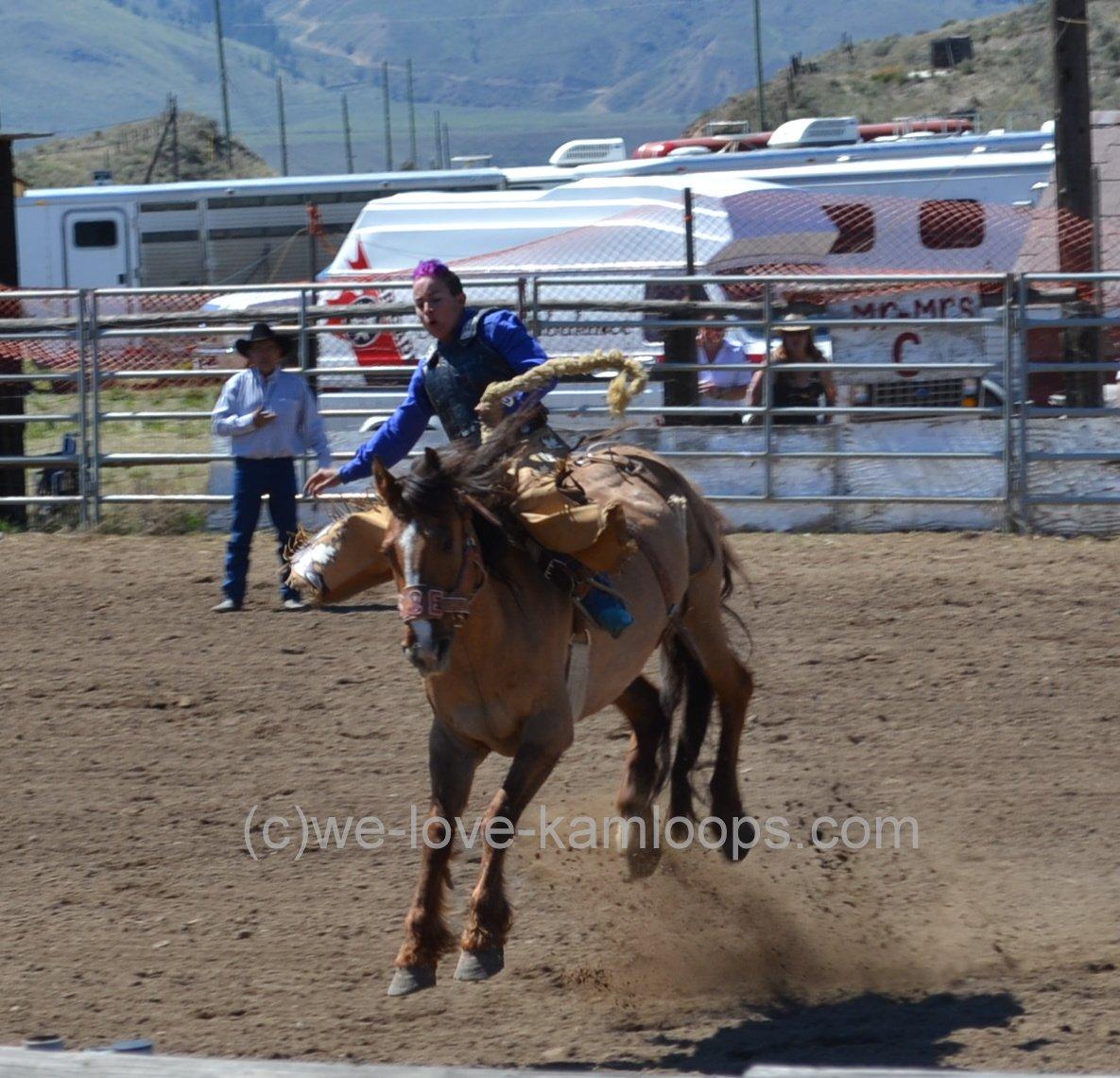 We Love Kamloops Rodeo Deadman Creek Bullarama