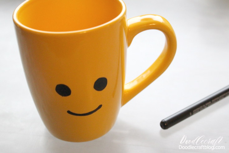 how to draw a simple mug