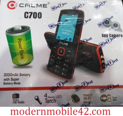 calme c700 flash file 100% tested file