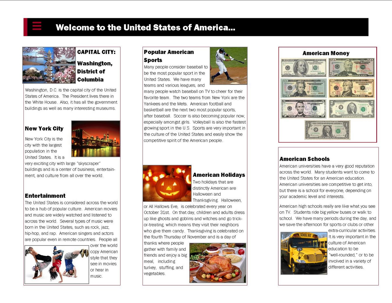 Country Travel Brochure Examples Ideal Vistalist Co