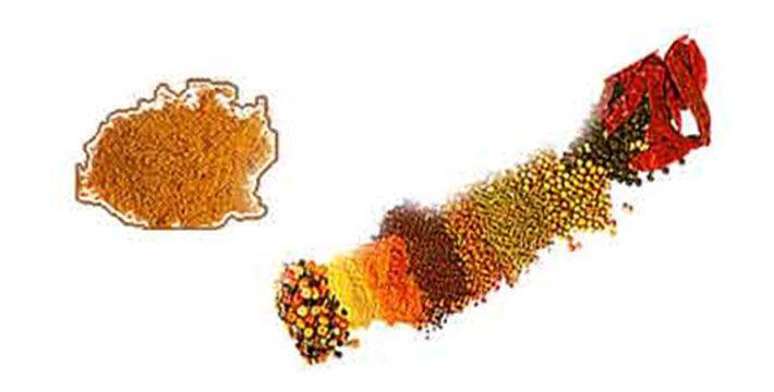 सांबर मसाला- पाककला | Sambar Masala - Recipe