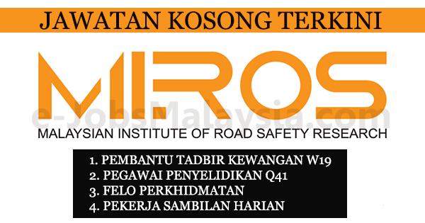 Institut Penyelidikan Keselamatan Jalan Raya Malaysia MIROS