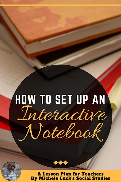 The first step to understanding how to set up an Interactive Notebook is understanding how an IN works within an Interactive Classroom. Interactive Notebooks aren't designed to be the end-all-be-all for lesson planning, note-taking, student engagement, and formative assessment. Instead, the Interactive Notebook is a tool to help students organize, relate, structure, and delve deeper into their course of study. Within an Interactive Classroom, Interactive Notebooks act as both catalyst and landing strip for all things learned. #interactivenotebook #interactiveclassroom #middleschool #highschool #lessonplans #teaching #teacher #interactive #classengagement