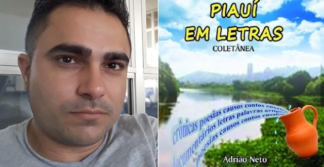 Professor luís-correiense está entre autores de livro organizado por Adrião Neto