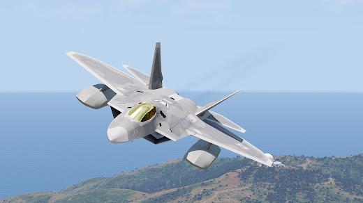 Arma3用F-22 Raptor戦闘機MOD
