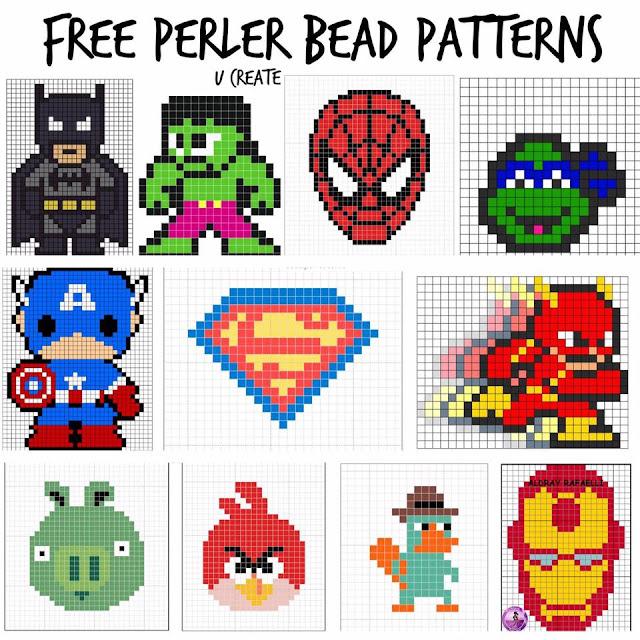 Patrones de superheroes para niños