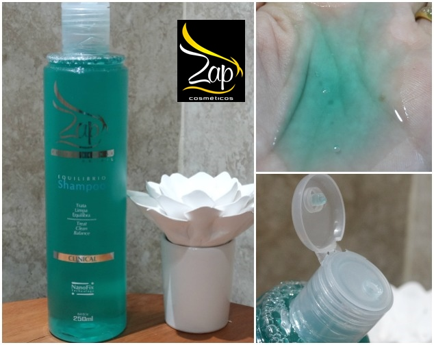 Zap Professional Clinical Shampoo Equilíbrio