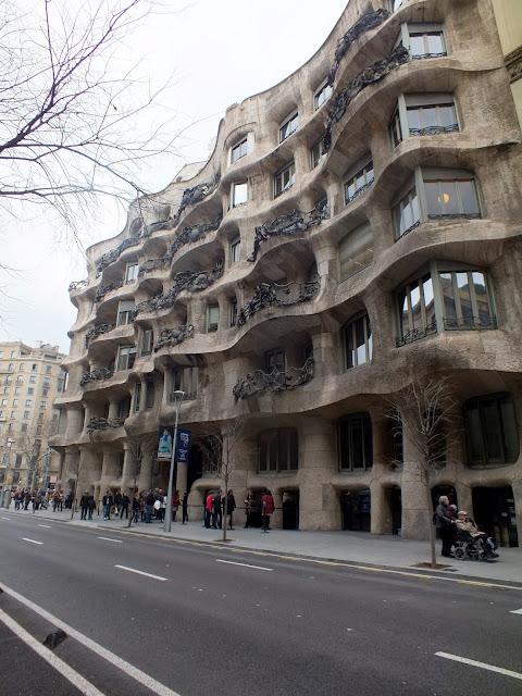 visitar la Pedrera en Barcelona