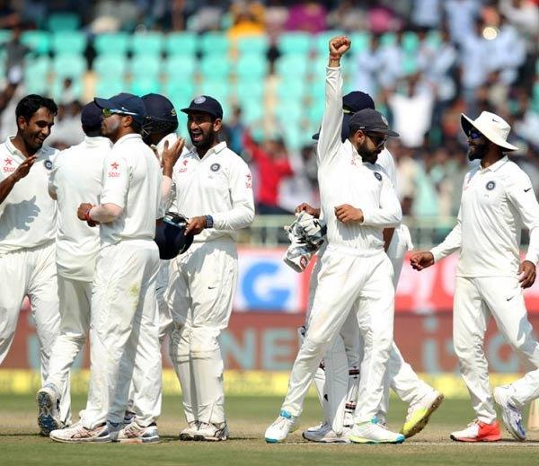 दुसरे टेस्ट में भारत की 246 रनों से शानदार जीत