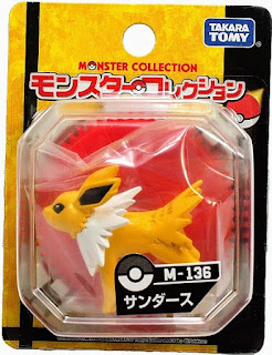 Jolteon figure renewal version Takara Tomy Monster Collection M series