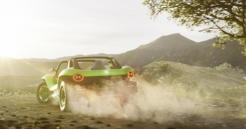 VW's Electric Dune Buggy
