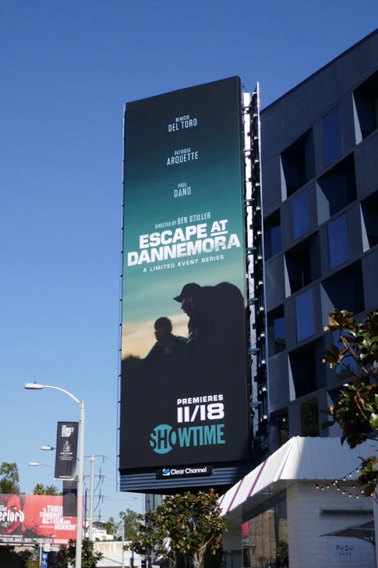 Escape at Dannemora series premiere billboard